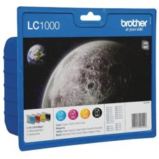 Brother Compatible  LC1000 XL Multipack (Black, Cyan, Magenta, Yellow)