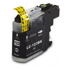 Brother Compatible LC123BK Black Ink Cartridge