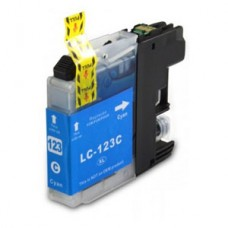 Brother Compatible LC123C Cyan Ink Cartridge