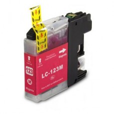 Brother Compatible LC123M Magenta Ink Cartridge