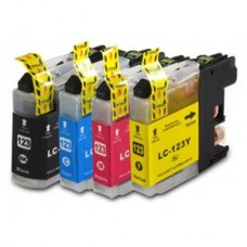 Brother Compatible LC123 Multipack (Black, Cyan, Magenta, Yellow)