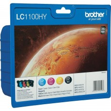 Brother Compatible LC1100XL Multipack (Black, Cyan, Magenta, Yellow)