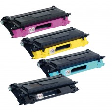 Brother Compatible TN135 High Capacity Toner Value Pack (B/C/M/Y)